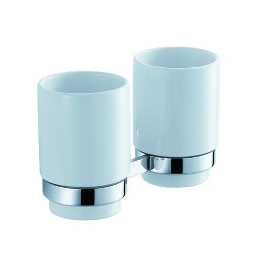Стаканы для ванной Kraus Стакан для зубных щеток Kraus Amnis KEA-11116CH