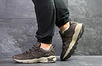 Мужские кроссовки Asics, замшевые демисезонные в цветах Коричневые, 45