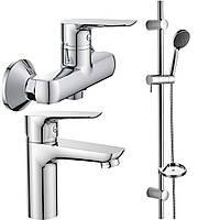 Наборы смесителей для ванны Imprese Набор смесителей для душа Imprese Kit21082