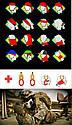Бафф маска с рисунком черепа (Челюсть) Красная, Унисекс, фото 10