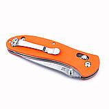 Нож складной Ganzo G7392-OR оранжевый, фото 5