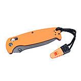 Нож складной Ganzo G7413-OR-WS оранжевый, фото 4