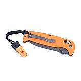 Нож складной Ganzo G7413-OR-WS оранжевый, фото 5