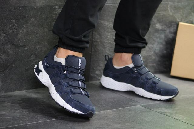 Мужские кроссовки Asics, замша, Кроссовки для бега в стиле ASICS