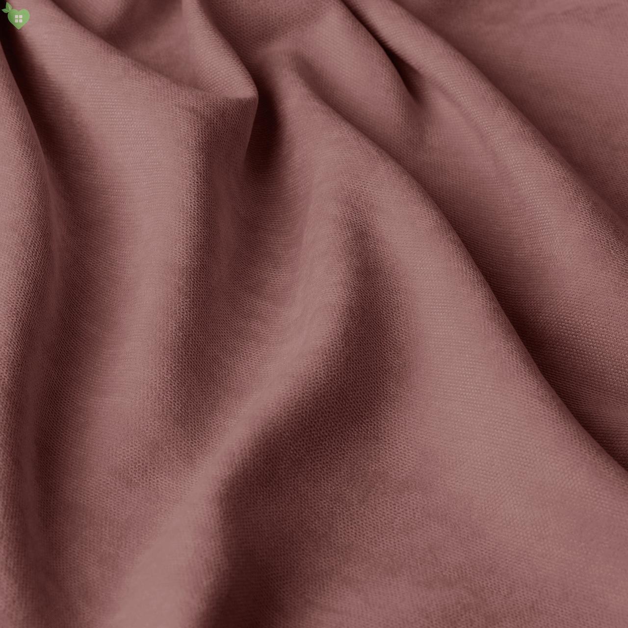 Однотонная декоративная ткань велюр сиреневый Турция 84360v14