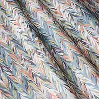 Декоративная ткань с цветным абстрактным узором 84292v1, фото 1