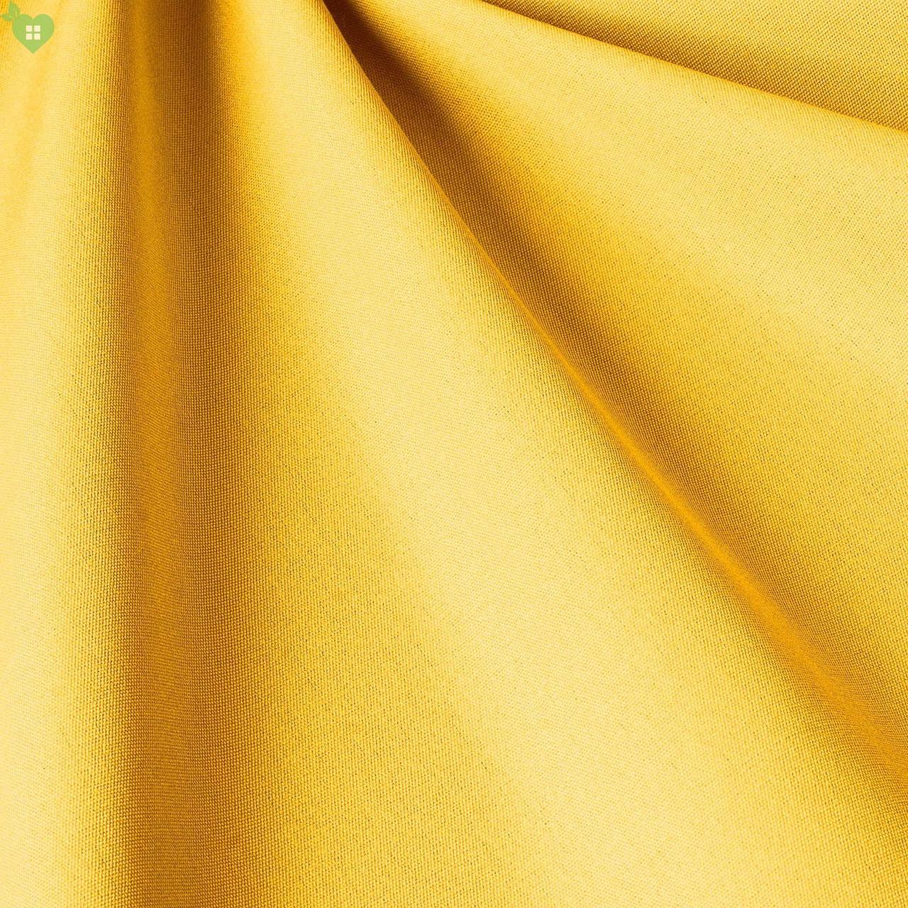 Однотонная уличная ткань рапсово-желтого цвета акрил Испания 83379v7