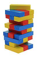 Настільна гра goki Дженга Різнокольорова вежа HS973