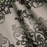 Декоративная ткань вензель коричневый Испания 83360v4, фото 1