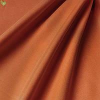 Подкладочная ткань с персиковой фактурой темно-морковного цвета Испания 83307v10