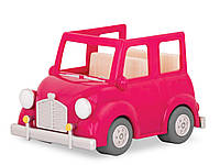 Транспорт Li'l Woodzeez Рожева машина з валізою WZ6547Z