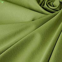Однотонная декоративная ткань болотного цвета с тефлоном DRY-81129, фото 1