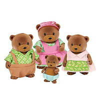 Набір фігурок Li'l Woodzeez Сім'я Ведмедів 6093M