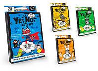 Карточная игра Yenot ДаНетки на русском 3 Данко Тойс SKL11-219018