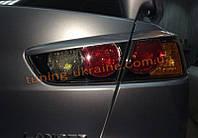 Задние реснички на Mitsubishi Lancer X 2007+