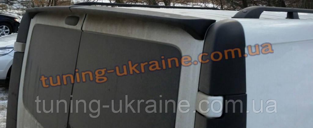 Спойлер на Renault Trafic 2001-2014 (распашонка)