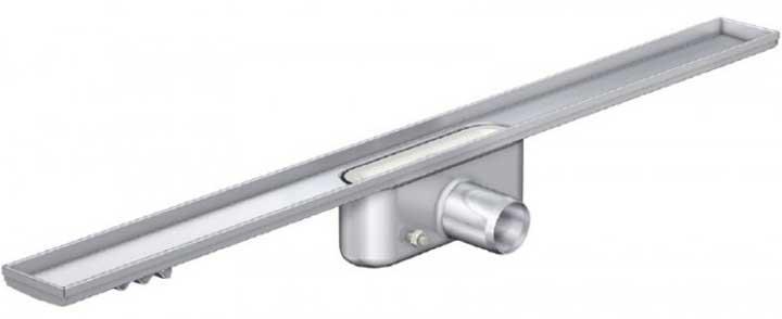 Душові трапи Трап Aco без фланця, низький сифон Aco ShowerDrain С-line 885 мм 408745