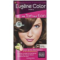Стойкая Краска  41 Светлый Шатен Золотистый  Эжен Колор  Eugene Color, Светлый Шатен Золотистый, 115 мл, примята упаковка