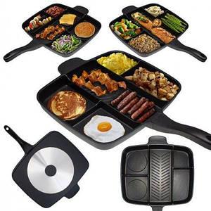 Сковорода гриль Magic Pan на 5 отделений