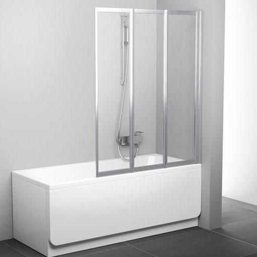 Шторки для ванни Ravak Шторка для ванни Ravak 115 см VS3 115 білий+transparent 795S0100Z1