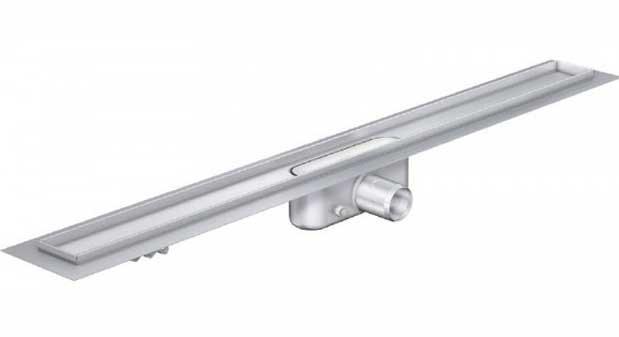 Душові трапи Трап Aco з фланцем, низький сифон Aco ShowerDrain С-line 1185 мм 408727