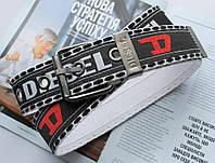 Мужской тканевый ремень Diesel черный, фото 1