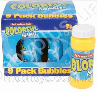 """Мыльные пузыри """"COLORFUL"""" (11-11-9 см) M 2040-1"""