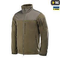 M-Tac куртка флисовая Alpha Windblock Dark Olive
