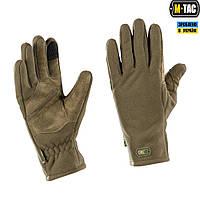 M-Tac перчатки флис Winter Tactical Windblock Dark Olive, фото 1