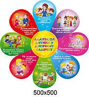 Стенд Адаптация ребенка в детском саду Цветочек