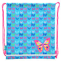 Сумка для обуви Smart SB-01 Butterfly blue, 40*35 (555358)