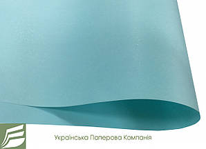 Дизайнерський папір Hyacinth Star Rain, світло-блакитна, 120 гр/м2
