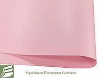 Дизайнерская бумага Hyacinth Star Rain, розовая, 120 гр/м2