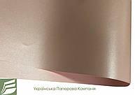 Дизайнерский картон Weight, перламутровый розовый, 250 г/м2