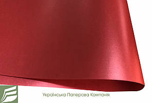 Дизайнерський папір Brilliant Star, перламутрова червона, 120 гр/м2