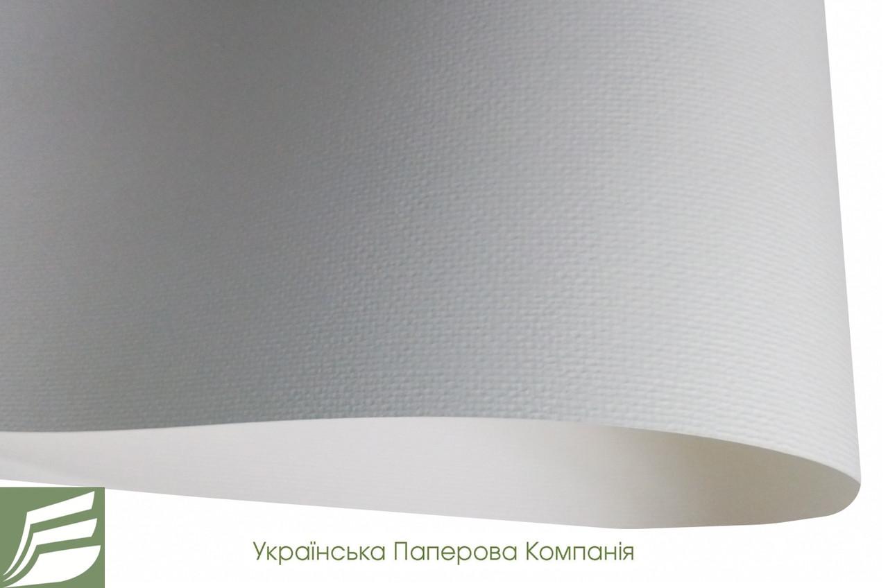 Дизайнерський картон Laid, молочний з тисненням полотно, 240 гр/м2