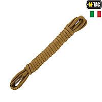 M-Tac шнурки с водоотталкивающей пропиткой (Италия) койот 135 см, фото 1