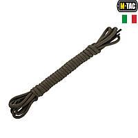 M-Tac шнурки с водоотталкивающей пропиткой (Италия) олива 175 см