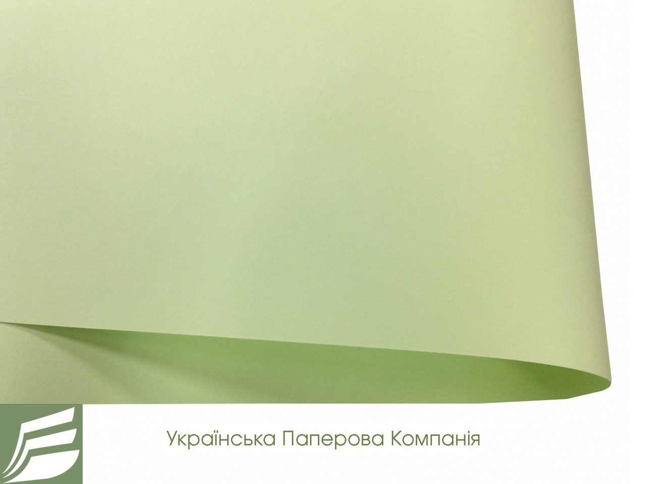 Дизайнерская бумага Hyacinth Inspiration салатовя, 110 гр/м2