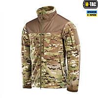 M-Tac куртка флисовая Alpha Windblock MC