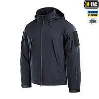 M-Tac куртка Soft Shell Typhoon Dark Navy Blue, фото 1