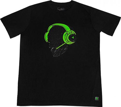 Футболка Razer Elite Skull Kraken T-Shirt - Men XXL (RGS8M01S4G-01-05XXL)
