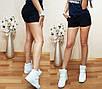 """Жіночі літні трикотажні шорти літні """"Сандра"""", фото 4"""