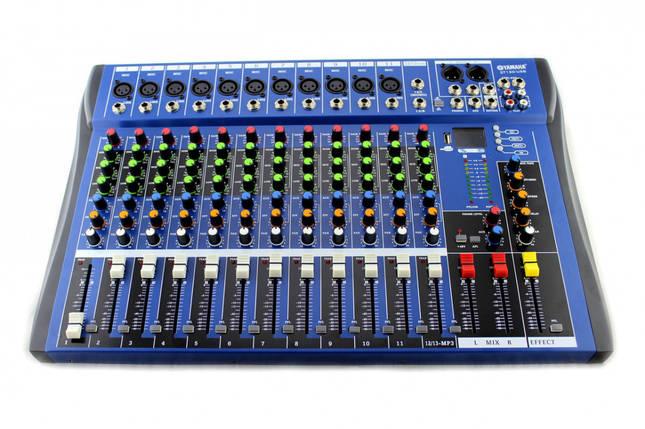 Аудіо мікшер Mixer 12USB CT12 Ямаха 12 канальний, фото 2