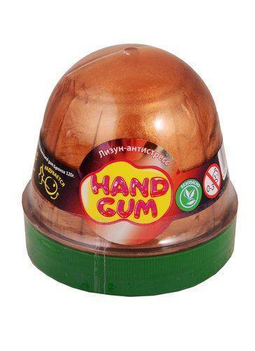 "Лизун-антистресс ""Hand gum"" 120 г бронзовый Окто 80103 ( TC133152)"
