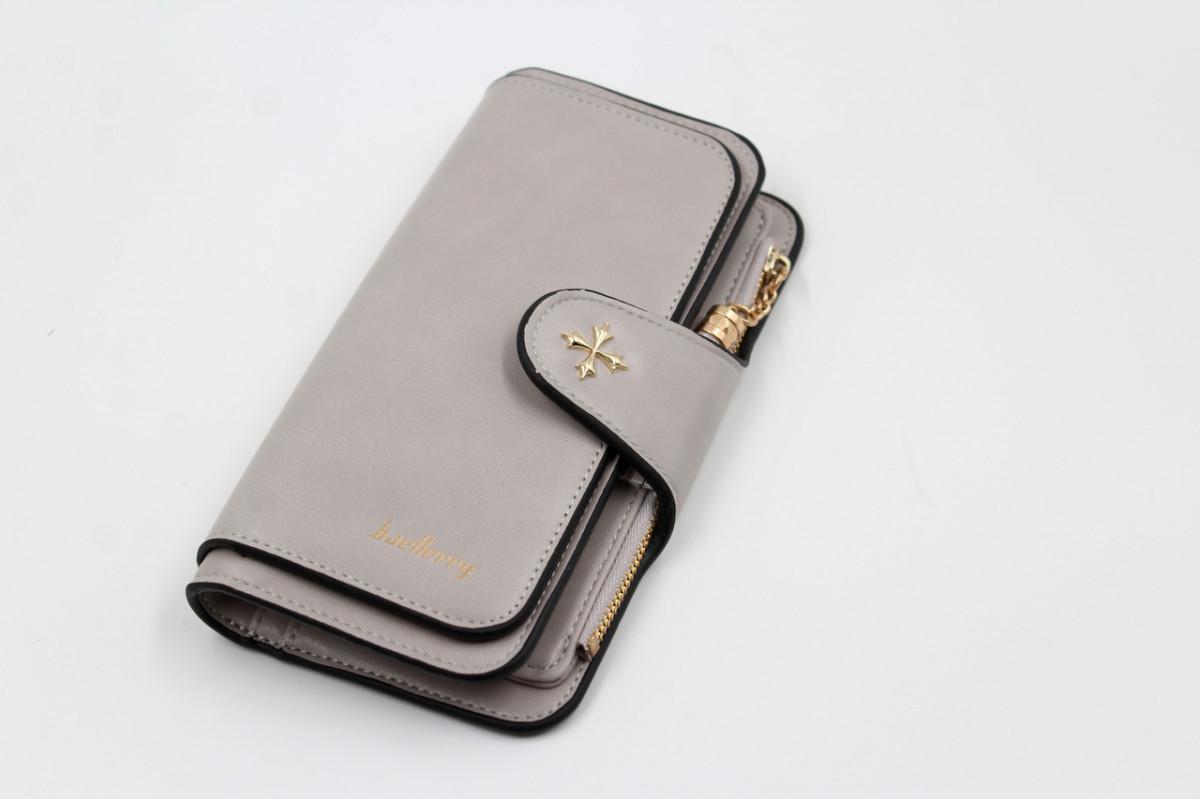 Гаманець, портмоне Baellerry N2341 (Сірий)