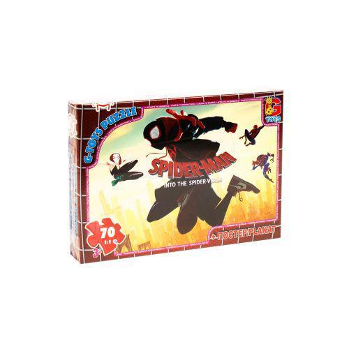 """Пазлы """"Человек-паук: Через вселенные"""" 70 элементов G-toys SM882 ( TC101962)"""