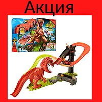 """Детский игровой трек """"Динозавр"""" аналог Hot Wheels Игрушка детский трек Игрушка для мальчика"""