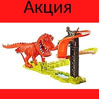 Трек динозавр Детский игровий трек Автотрек для мальчика