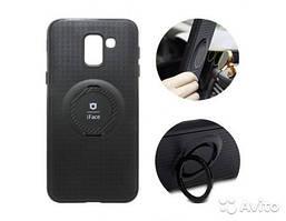 Чехол iFace для Samsung Galaxy A6+ SM-A605FN с магнитным держателем